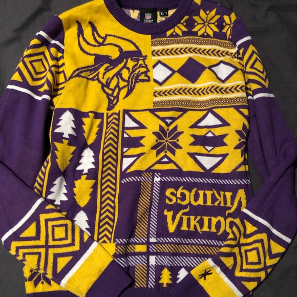 watch d6a93 132e6 Minnesota Vikings Ugly Sweater